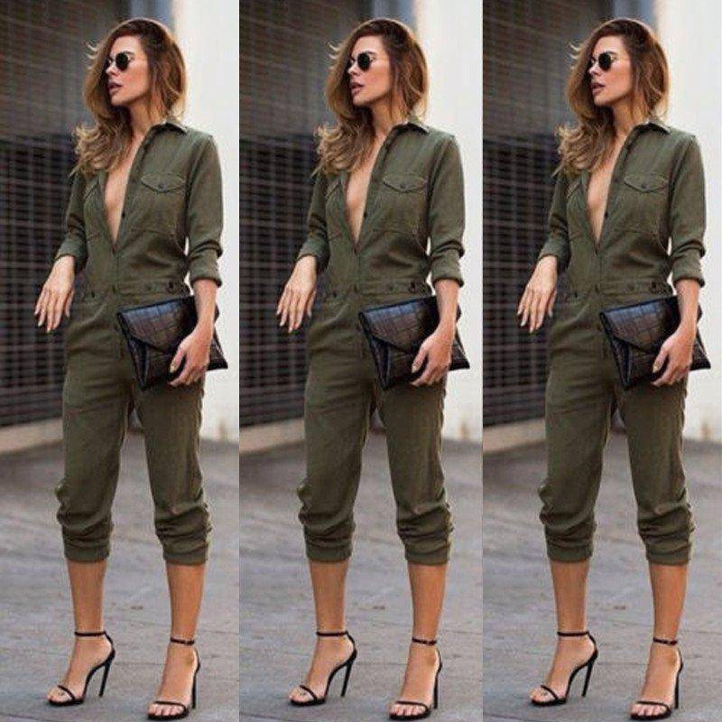 Bomber Women's Jumpsuit  -  S  -  Jumpsuits  - SNS Outlet