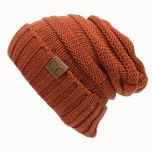 CC Beanies Wool Cap  -  Light Brown cc hat / One Size  -   - SNS Outlet