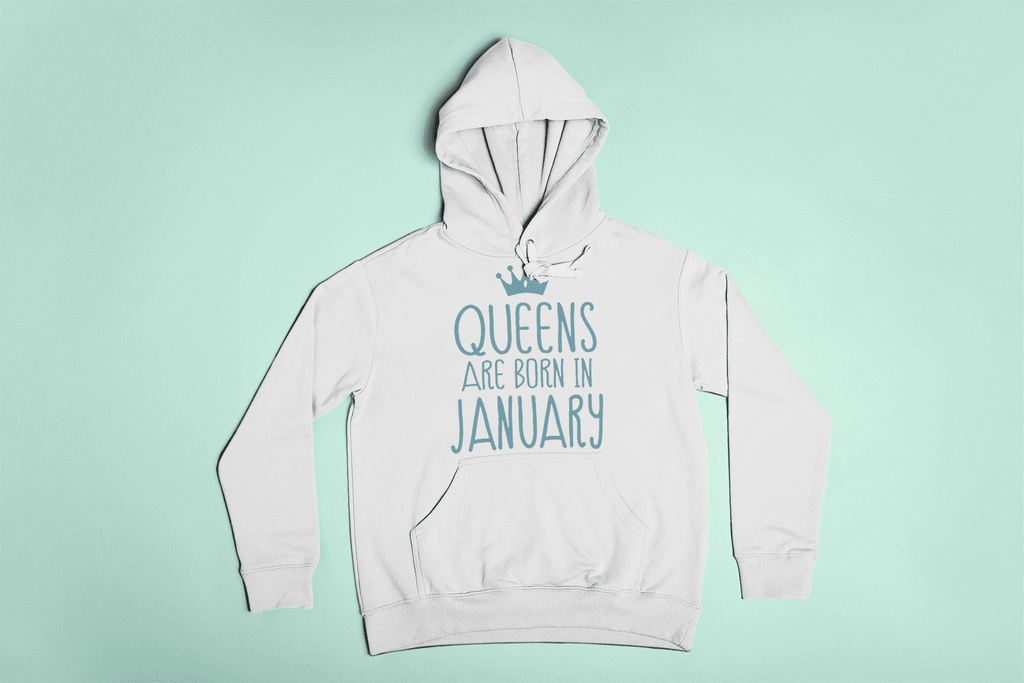 Crown Of A January Queen Hoodie  -  S  -  Hoodie  - SNS Outlet