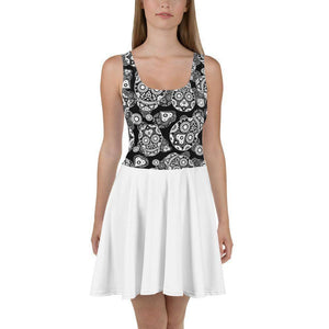 Day Of Dead Sun Dress  -  XS  -  Dress  - SNS Outlet