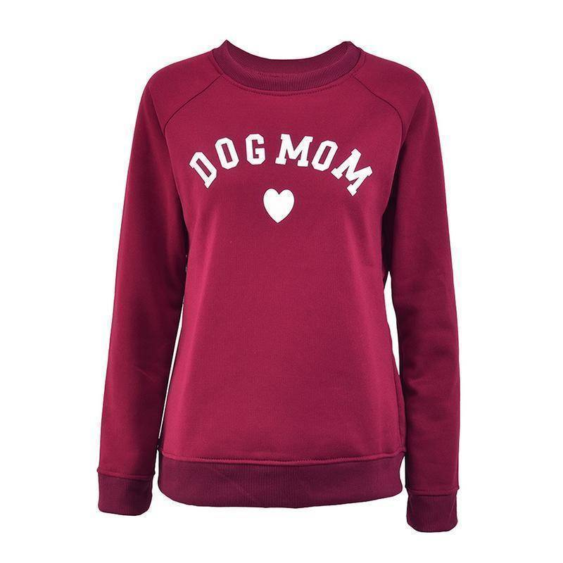 Dog Mom Sweater  -  Blue / S  -  Hoodies & Sweatshirts  - SNS Outlet