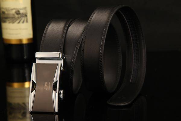 DTWS™ Mens Leather Belt  -  NE312 silvery / 105cm 29to31 Inch  -   - SNS Outlet