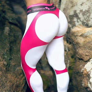 Dynamic Fit High Waist Leggings  -  White / S  -  Leggings  - SNS Outlet