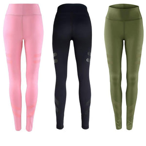 Dynamic Fit Quick Dry Leggings  -  Green / S  -  Leggings  - SNS Outlet