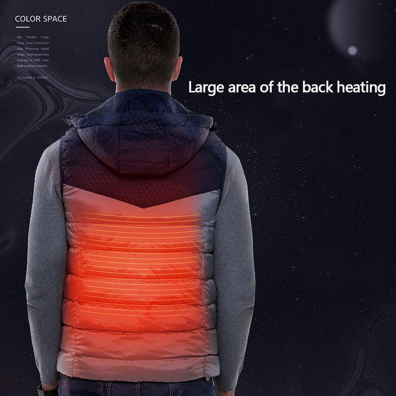 Electric Heating Mens Vest  -  M  -  Vest  - SNS Outlet