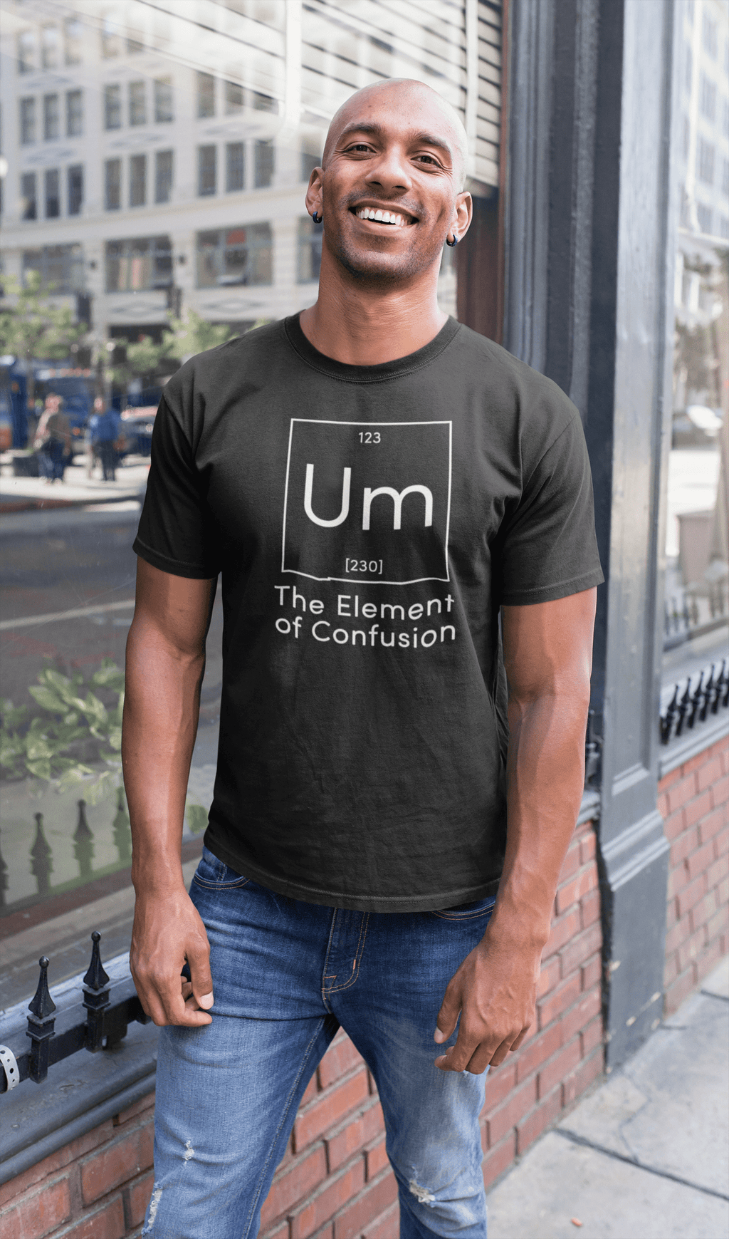 Element Of Confusion  -  Black / Small  -  tshirt  - SNS Outlet