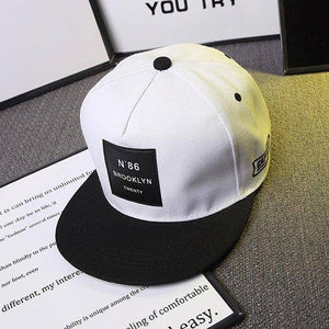 Est. 1986 Brooklyn Snapback  -  White / Adjustable  -  Baseball Caps  - SNS Outlet
