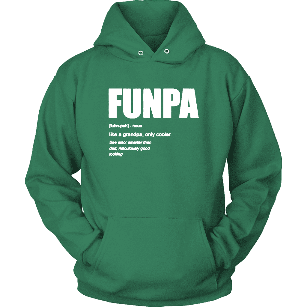 FunPA Hoodie  -  Kelly Green / S  -  T-shirt  - SNS Outlet