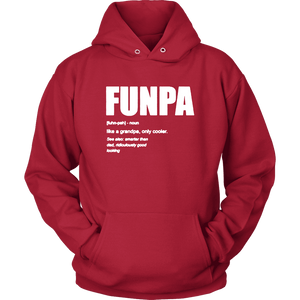 FunPA Hoodie  -  Red / S  -  T-shirt  - SNS Outlet
