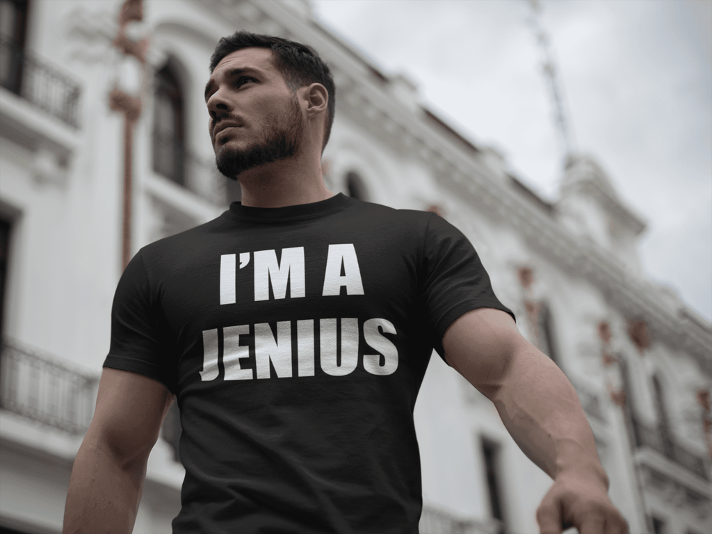 I'm A Jenius  -  Small / Black  -  Shirt  - SNS Outlet