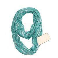 Infinity Scarf  -  Sky Blue  -  Scarf  - SNS Outlet