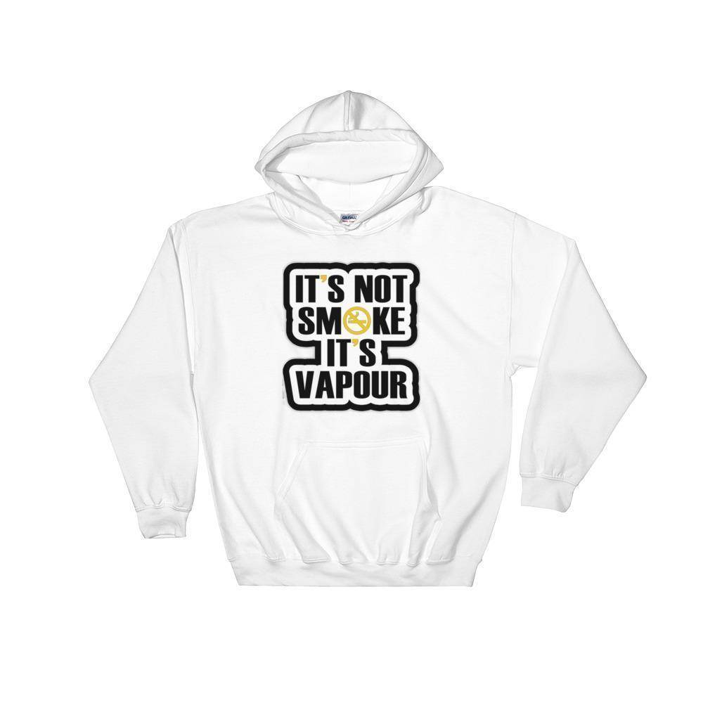 It's Vapour Hoodie  -  White / M  -   - SNS Outlet