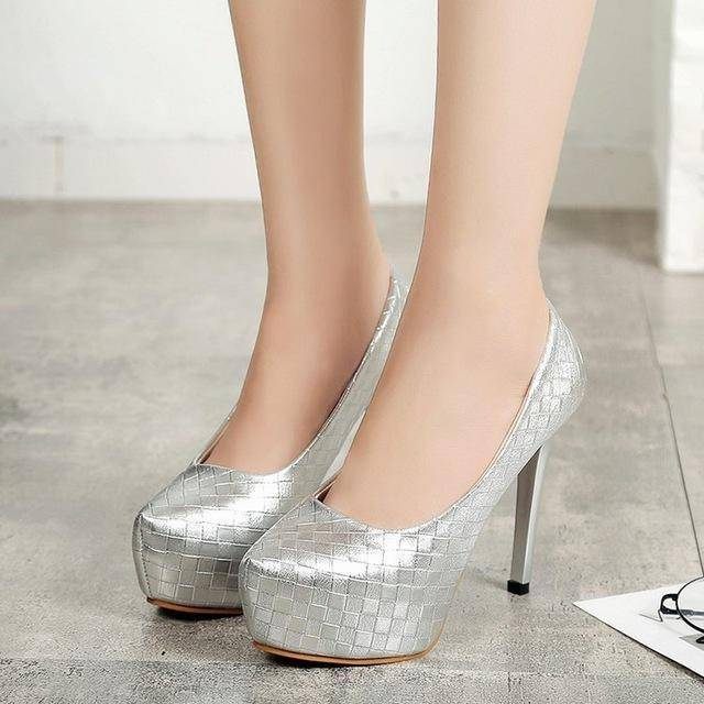 Love Sucks Heel By Adnon Pritzva™  -  Silver   G / 6  -   - SNS Outlet