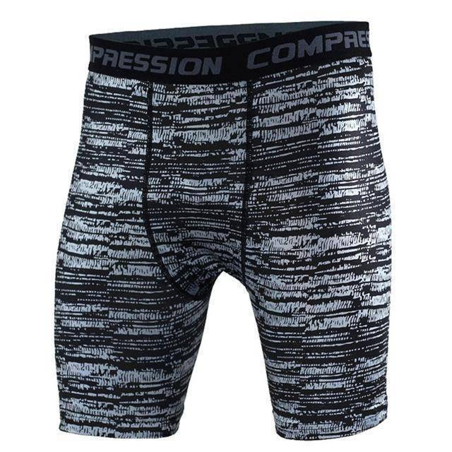 Men's Compression Shorts  -  as the picture shows 10 / S  -   - SNS Outlet