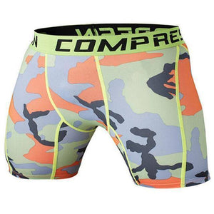 Men's Compression Shorts  -  as the picture shows 3 / S  -   - SNS Outlet