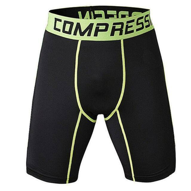 Men's Compression Shorts  -  as the picture shows 6 / S  -   - SNS Outlet