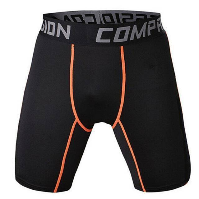 Men's Compression Shorts  -  as the picture shows 7 / S  -   - SNS Outlet