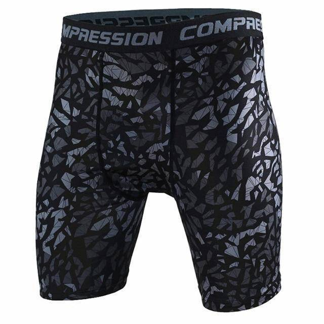 Men's Compression Shorts  -  as the picture shows 8 / S  -   - SNS Outlet
