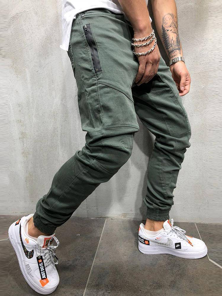 Mens Supreme Jogger Pants  -  PACK01G / M  -  Skinny Pants  - SNS Outlet