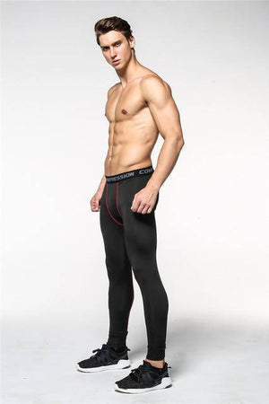 QuickDry Compression Pants  -  Dark Grey / S  -  Leggings  - SNS Outlet