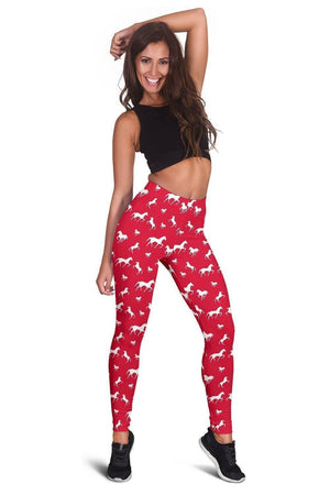 Red Horse Leggings  -  Women's Leggings / XS  -  Leggings  - SNS Outlet