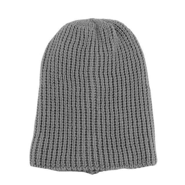 Slouch Beanie  -  gray  -  Skullies & Beanies  - SNS Outlet