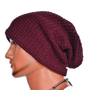 Slouch Beanie  -  wine  -  Skullies & Beanies  - SNS Outlet