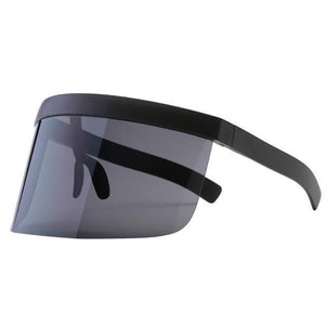 SNS Polarized Visor Sunglasses  -  Black  -  Sunglasses  - SNS Outlet