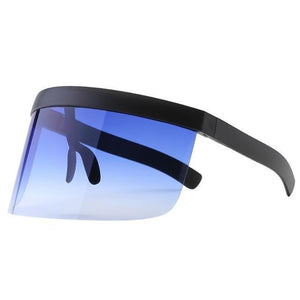 SNS Polarized Visor Sunglasses  -  Blue Tint  -  Sunglasses  - SNS Outlet