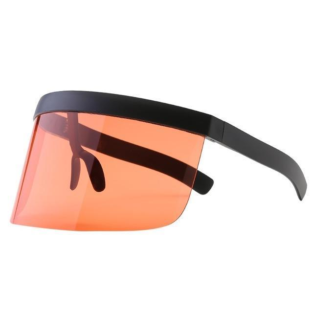 SNS Polarized Visor Sunglasses  -  Peach  -  Sunglasses  - SNS Outlet