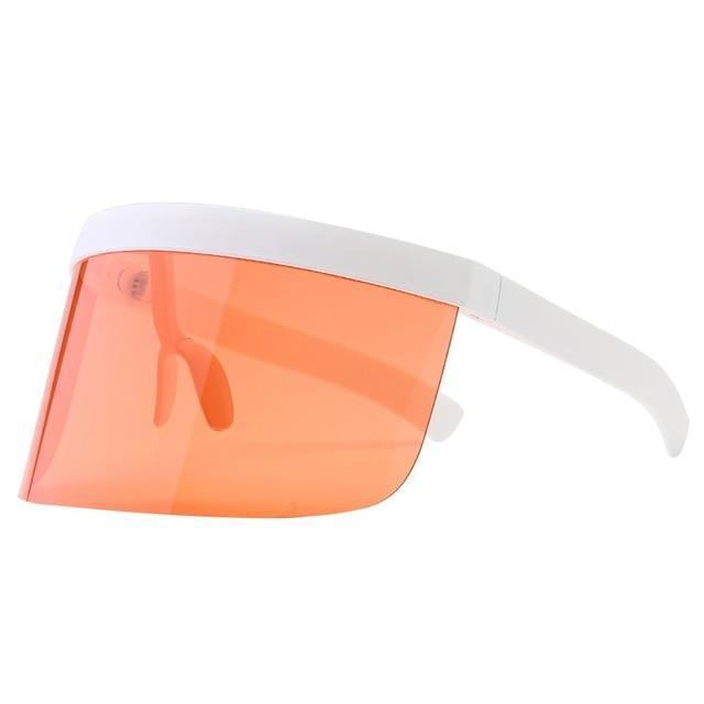 SNS Polarized Visor Sunglasses  -  Pink  -  Sunglasses  - SNS Outlet