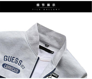 SNS™ Spring Sport Tracksuit  -  Light Gray / M  -   - SNS Outlet