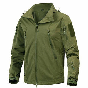 The Barrage Jacket By DefKon™  -  Army Green / S  -  Jacket  - SNS Outlet
