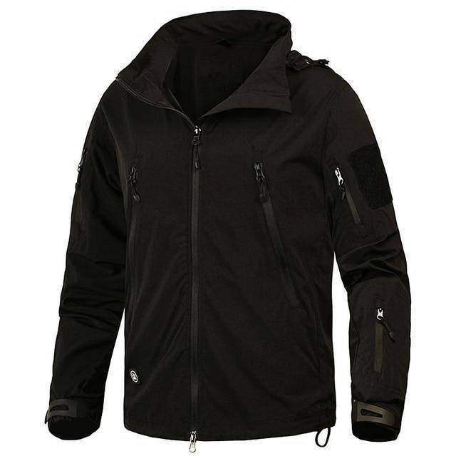The Barrage Jacket By DefKon™  -  Black / S  -  Jacket  - SNS Outlet