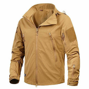The Barrage Jacket By DefKon™  -  Khaki / S  -  Jacket  - SNS Outlet