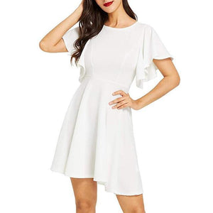 The Cover Skater Dress By Dante  -  White / S / United States  -  Dress  - SNS Outlet