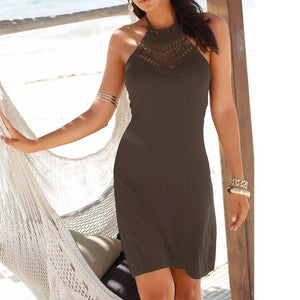The Marriage by Vesti™ Casual Dress  -  Brown / S  -  Dresses  - SNS Outlet