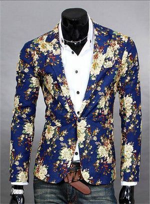 The Orlando by Quincy Men's Suit Jacket  -  blue / S  -  Blazers  - SNS Outlet