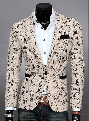 The Orlando by Quincy Men's Suit Jacket  -  Rice white / S  -  Blazers  - SNS Outlet