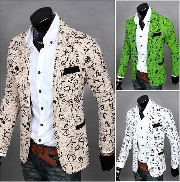 The Orlando by Quincy Men's Suit Jacket  -  white / S  -  Blazers  - SNS Outlet
