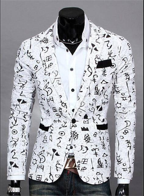 The Orlando by Quincy Men's Suit Jacket  -  white4 / S  -  Blazers  - SNS Outlet