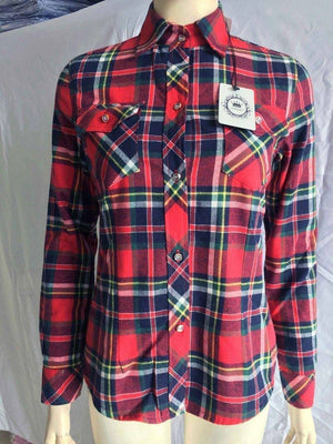 The Wookie - Women's Lined Flannel  -  889801 / M  -  Blouses & Shirts  - SNS Outlet