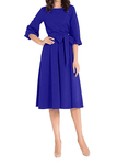 The Work Dress  -  Blue / S  -  Dresses  - SNS Outlet