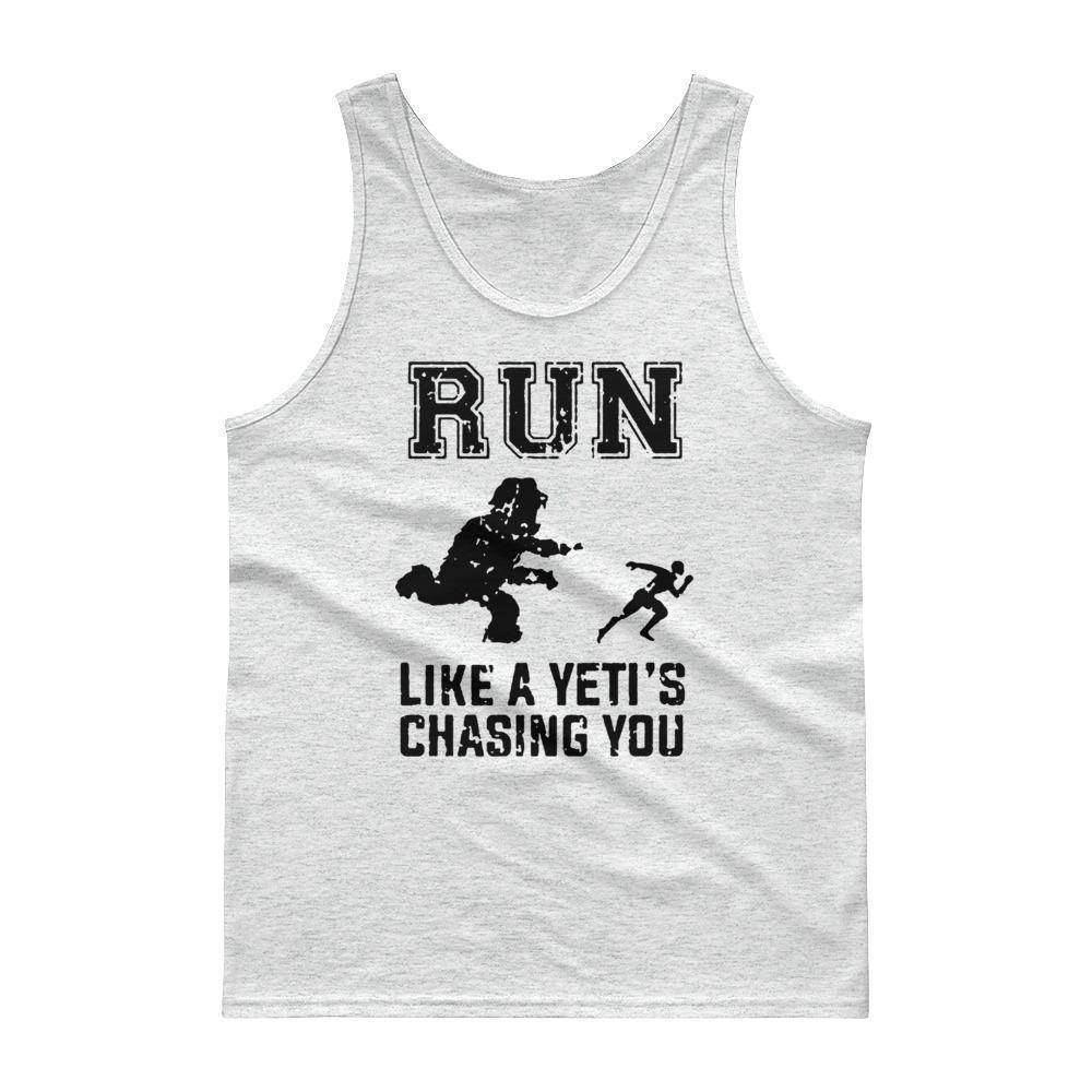 There's A Yeti! Tank top  -  Ash / S  -  Tank Top  - SNS Outlet