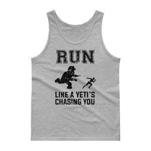 There's A Yeti! Tank top  -  Sport Grey / M  -  Tank Top  - SNS Outlet