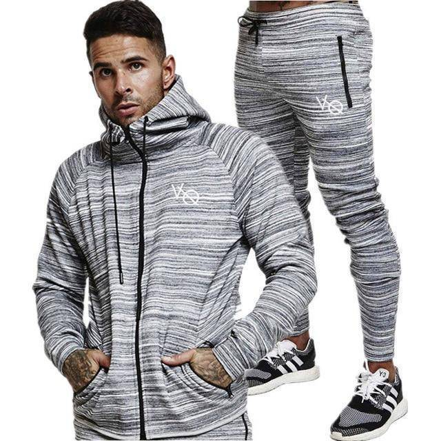Vanquish Army Tracksuit  -  gray / M  -  Tracksuit  - SNS Outlet
