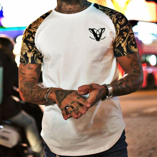 Vanquish Disrupt Mens Premium T-Shirt  -  white 1 / XL  -  T-Shirts  - SNS Outlet