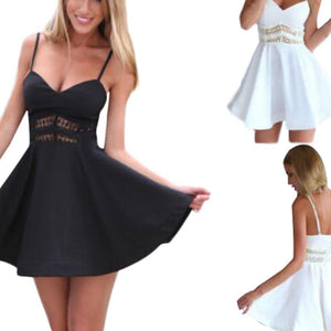 Vega Skater Dress By Maurice  -  Black / L / United States  -  Dress  - SNS Outlet