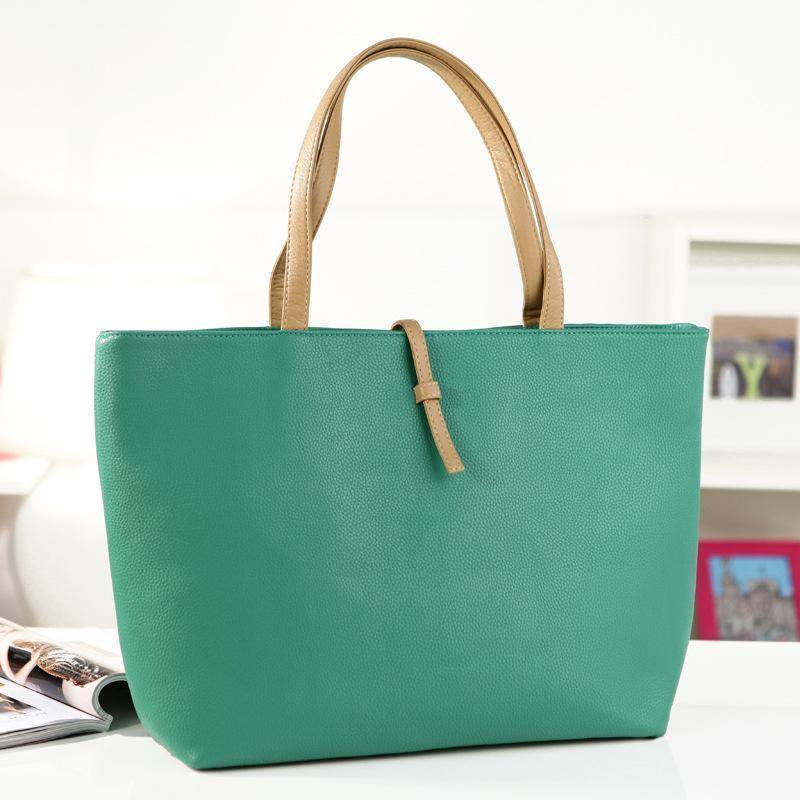 Vintage Vegan by Stella Florence™ (Cruelty-Free)  -  Green  -  Hand Bags  - SNS Outlet