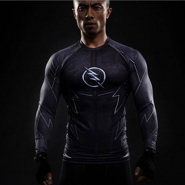 Winter Soldier Crossfit Compression Shirt  -  picture color2 / S  -  T-Shirts  - SNS Outlet